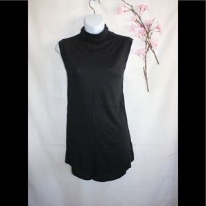 Lululemon Black Sleeveless High Neck Top Shirt